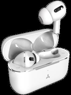 Наушники True Wireless Accesstyle Indigo TWS, белые фото