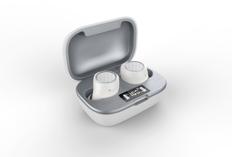 Наушники True Wireless Accesstyle Saffron TWS, белые фото