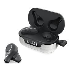 Наушники беспроводные True Wireless Olmio TWE-07, черные фото