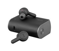 Наушники беспроводные внутриканальные затычки с зарядным кейсом футляром True Wireless RHA TrueConnect, черные фото