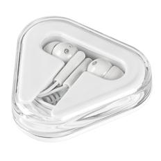 Наушники проводные внутриканальные Pocket Musician, белые фото