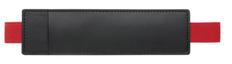 Футляр-карман для ручки HOLDER Soft, черный/красный фото