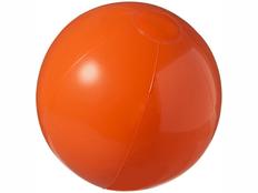 Пляжный мяч непрозрачный Bahamas, оранжевый фото