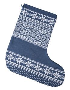 Носок декоративный Сделано в России «Скандик», синий фото