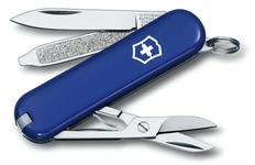 Нож перочинный Victorinox Classic, 7 функций, синий фото