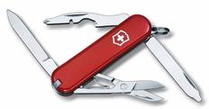 Нож перочинный Victorinox Rambler, 58 мм, 10 функций, красный фото