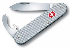 Нож Victorinox Alox Bantam, серебристый, 84 мм, 5 функций фото