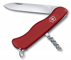 Нож Victorinox ALPINEER, красный, 111 мм, 5 функций фото