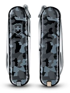 Нож Victorinox Classic, 5.8 мм, 7 функций, морской камуфляж фото