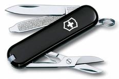 Нож Victorinox Classic, 5.8 см, 7 функций, чёрный фото
