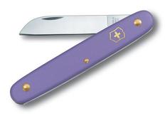 Нож Victorinox EcoLine Floral, фиолетовый, 1 функция, в картонной коробке фото