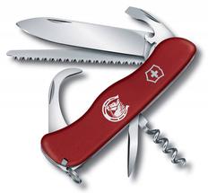 Нож Victorinox EQUESTRIAN, красный, 111 мм, 12 функций фото