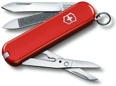 Нож Victorinox Executive, красный, 65 мм, 7 функций фото
