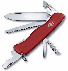 Нож Victorinox Forester, красный, 111 мм, 12 функций фото