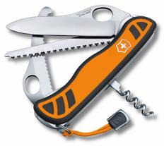 Нож Victorinox Hunter XT One Hand, чёрно-оранжевый, 111 мм, 6 функций фото