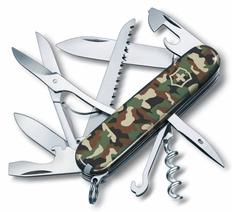 Нож Victorinox Huntsman, камуфляж, 91 мм, 15 функций, в картонной коробке фото