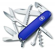 Нож Victorinox Huntsman, синий, 91 мм, 14 функций фото