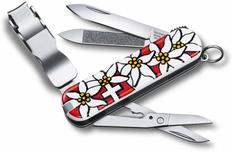 Нож Victorinox Nail Clip, 65 мм, 8 функций, белый фото