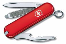 Нож Victorinox Rally, красный, 58 мм, 9 функций фото