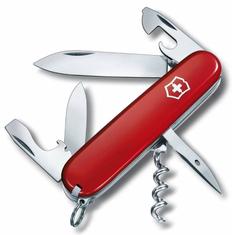 Нож Victorinox Spartan, красный, 91мм, 12 функций, в картонной коробке фото