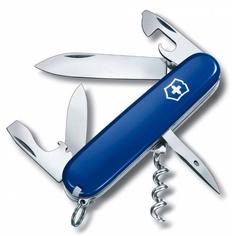 Нож Victorinox Spartan, синий, 91мм, 12 функций, в картонной коробке фото