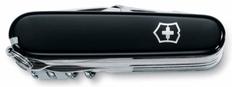 Нож Victorinox SwissChamp, чёрный, 91 мм, 33 функции, в картонной коробке фото