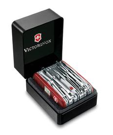 Нож Victorinox SwissChamp, красный, 91 мм, 81 функция фото