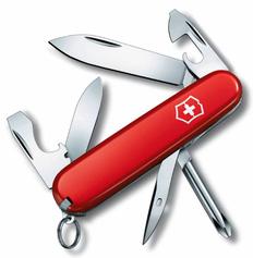 Нож Victorinox Tinker, красный, 84 мм, 12 функций фото
