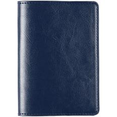 Обложка для паспорта Nebraska, синяя фото