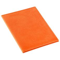 Обложка для паспорта Twill, оранжевая фото