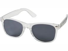 Очки солнцезащитные Sun Ray, с прозрачной оправой, серый фото