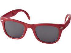 Очки солнцезащитные Sun Ray складные, красный фото