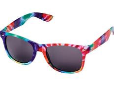 Очки солнцезащитные Sun Ray в пестрой оправе, разноцветные фото