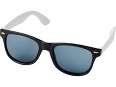 Очки солнцезащитные Sun Ray в стиле ретро, черные фото