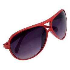 Очки солнцезащитные Floid, UV 400, красный фото