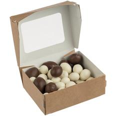 Орехи в шоколадной глазури Sweetnut, белые / коричневые фото