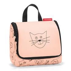 Органайзер детский Reisenthel Toiletbag S Cats and Dogs Rose, розовый фото