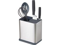 Органайзер для кухонной утвари и ножей Surface, черный / серый фото