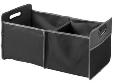 Органайзер-гармошка для багажника, черный, серый фото