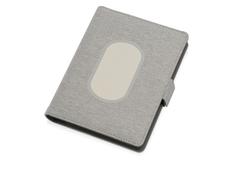Органайзер с беспроводной зарядкой Powernote, 5000 mAh, светло-серый фото