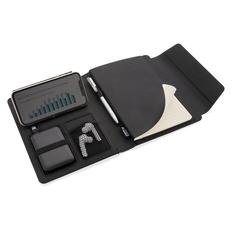 Органайзер с блокнотом и внешним аккумулятором XD Xclusive Fiko А5, черный фото