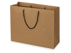 Пакет подарочный Kraft L, коричневый фото