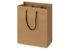 Пакет подарочный Kraft S, коричневый фото