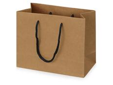 Пакет подарочный Kraft XS, коричневый фото