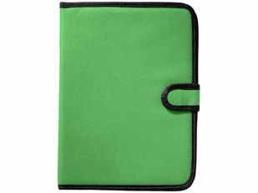 Папка А4 University на липучке с держателем для ручки, карманом для документов и блокнотом с 20 стр, зеленый фото