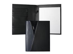 Папка A5 Lapo, чёрно-синяя фото