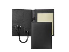 Папка А5 + портативное зарядное устройство Storyline Black фото