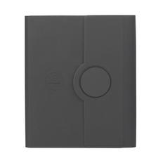 Папка А5 с с беспроводным зарядным устройством 5000 mAh и блокнотом soft touch, черная фото
