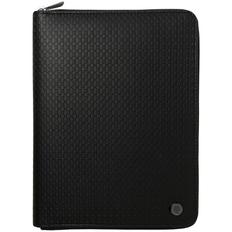 Папка-органайзер Hugo Boss Epitome с блокнотом А5 и аккумулятором 8000 мА4, черная фото