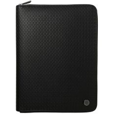 Папка-органайзер с блокнотом и аккумулятором Hugo Boss Epitome А5, 8000 mAh, черная фото